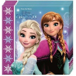 Salveta 2 slojna 33 x 33 cm 1/20 Disney Frozen Northern Lights