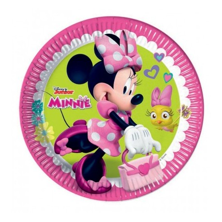 Tanjir kartonski 1/8 23 cm Minnie Happy Helpers Disney
