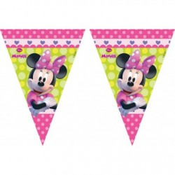 Minnie Mouse trouglasti baner (9 zastavica)