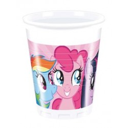 Časa plastična 1/8 200 ml Rainbow Pony