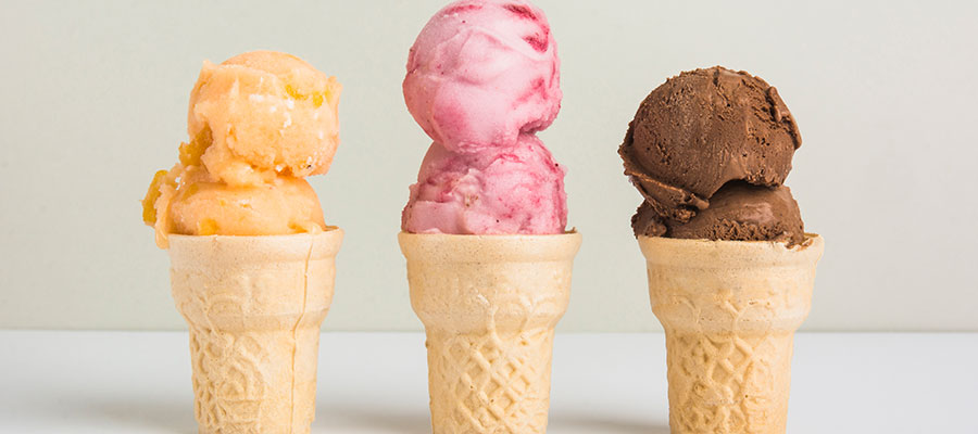 Sladoled u kornetu