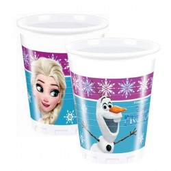 Casa plasticna 1/8 200 ml Disney Frozen Northern Lights