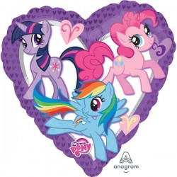 My Little Pony srce balon sa helijumom