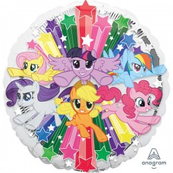 My Little Pony zvezdice balon sa helijumom