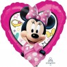 Minnie Mouse srce balon sa helijumom