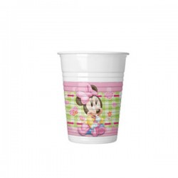 Casa plasticna 1/8 200 ml Disney Minnie Baby